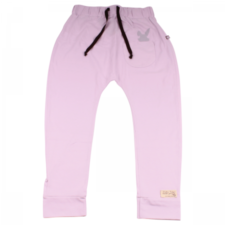 J001 L Pantalon conejito lila